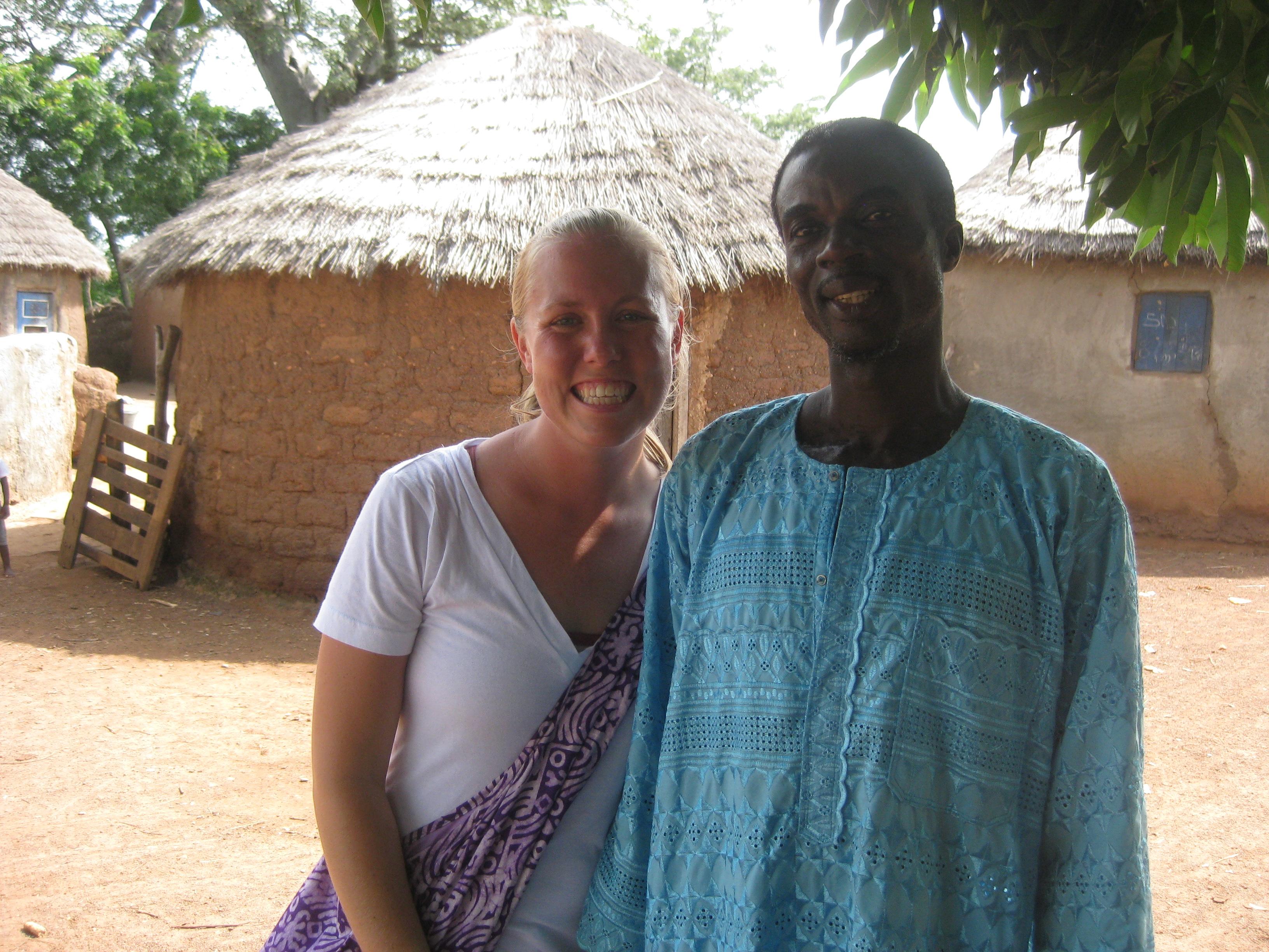 Soufoo and I in Nymaliga!
