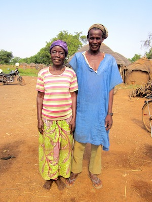 Zenabu and her husband in Buhijaa