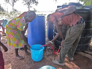 The new moved and improved water treatment center - Tacpuli
