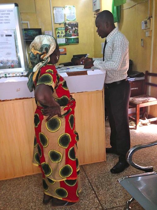 Abiba - bank helper