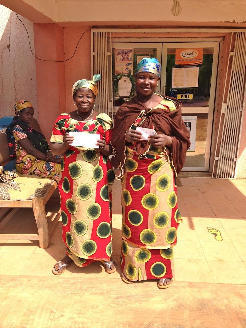 Abiba & Salima matching