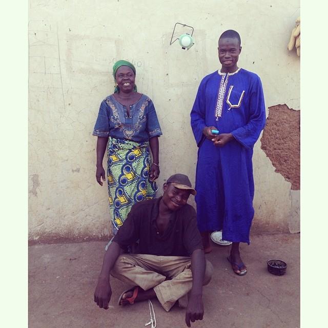 Abiba, Huseini and Osman