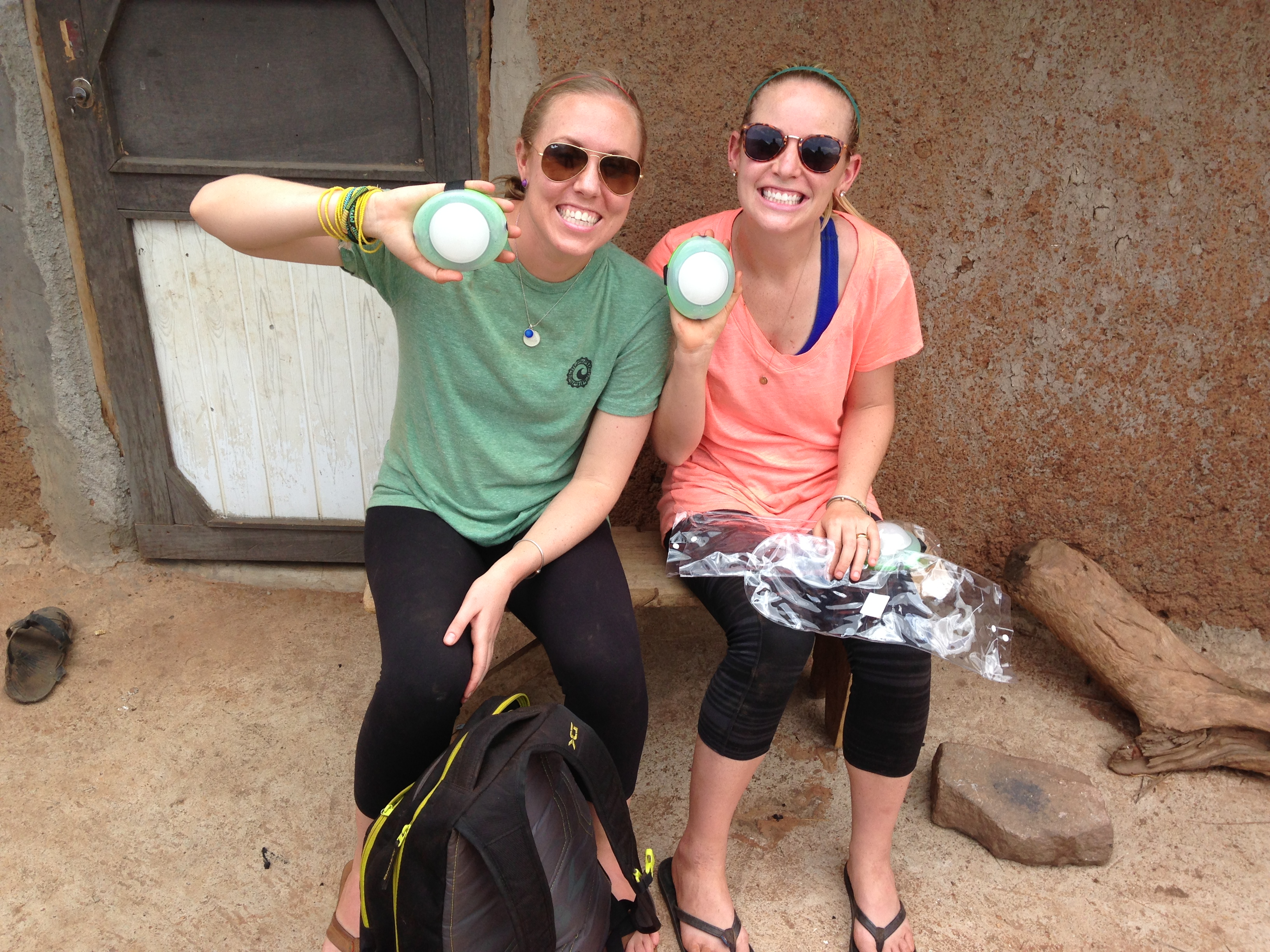 Me and Sam with our Burro Lanterns! We have both been LOVING getting back in the field!