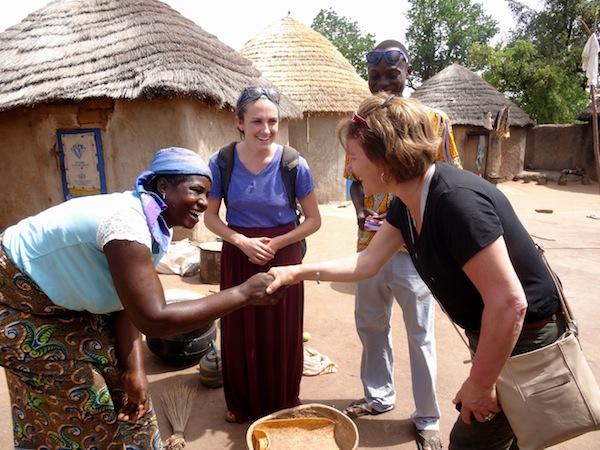 My mom comes to Ghana and meets Fuseina in Kurugu Vohoyili!