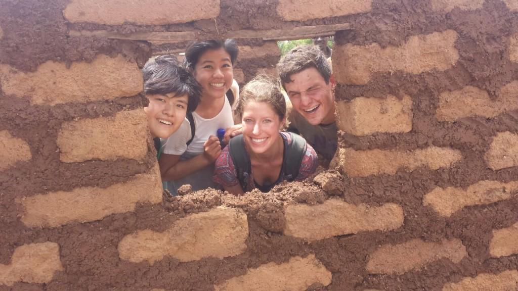 Team Jaleel: Greta, Heidi, Lindsey, Hunter and Jaleel (not pictured)