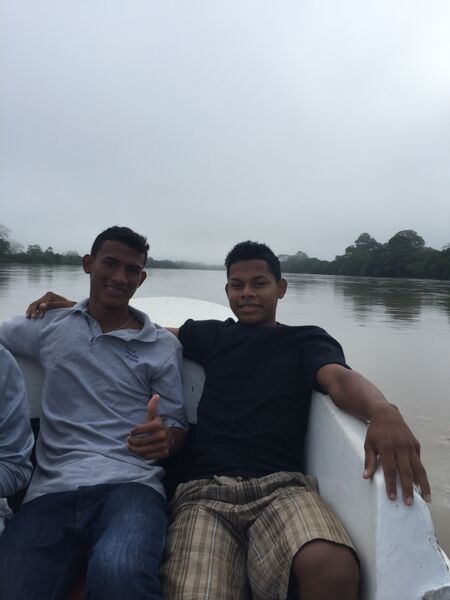 Our amazing translators! In the communities around Waspam, people speak Miskito. These guys were a tremendous help.