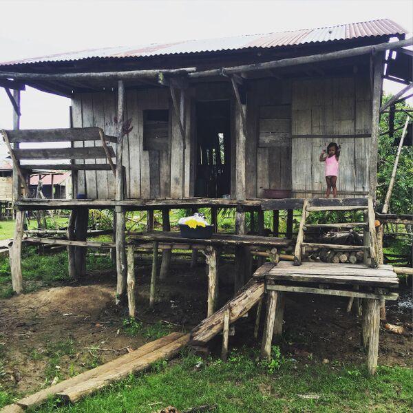 A household in the community of Kiwastara.