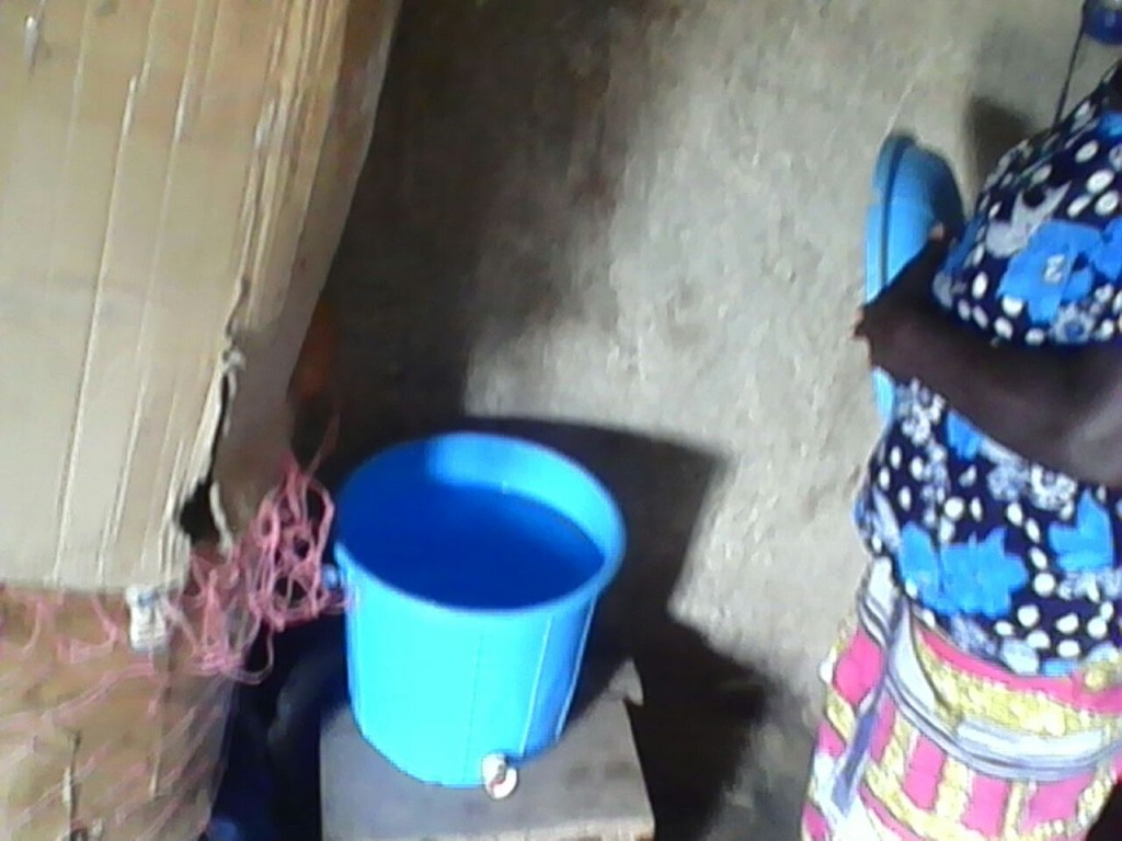Clean rain water in Yapalsi
