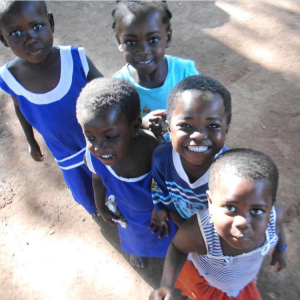 Kids in Tunga! Tunga was the first community that we worked in when we expanded to Salaga. These kiddos have had access to clean water for 3 years now!