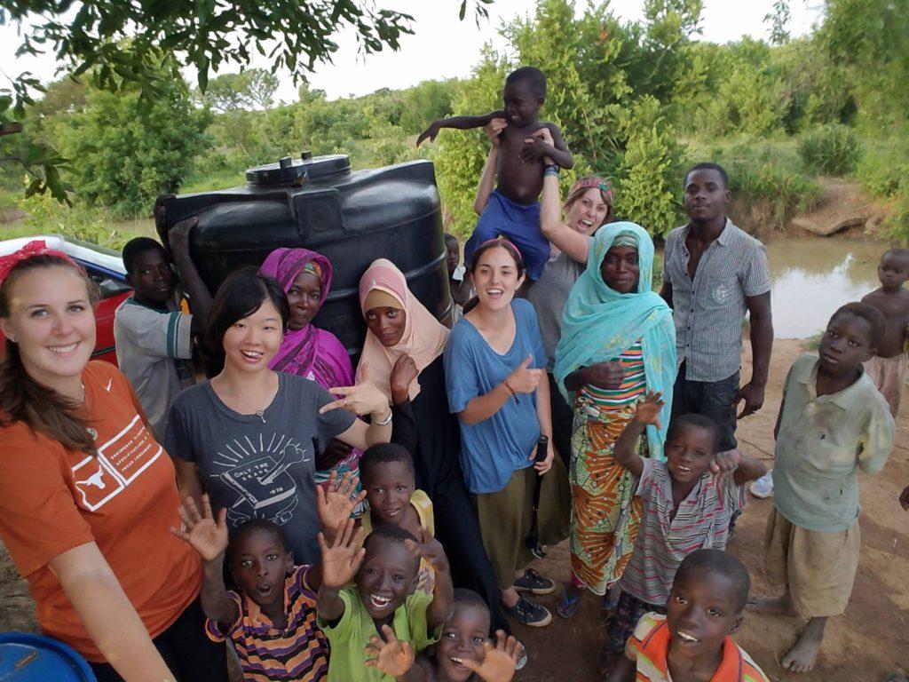 Mahamuyili water treatment center group selfie!