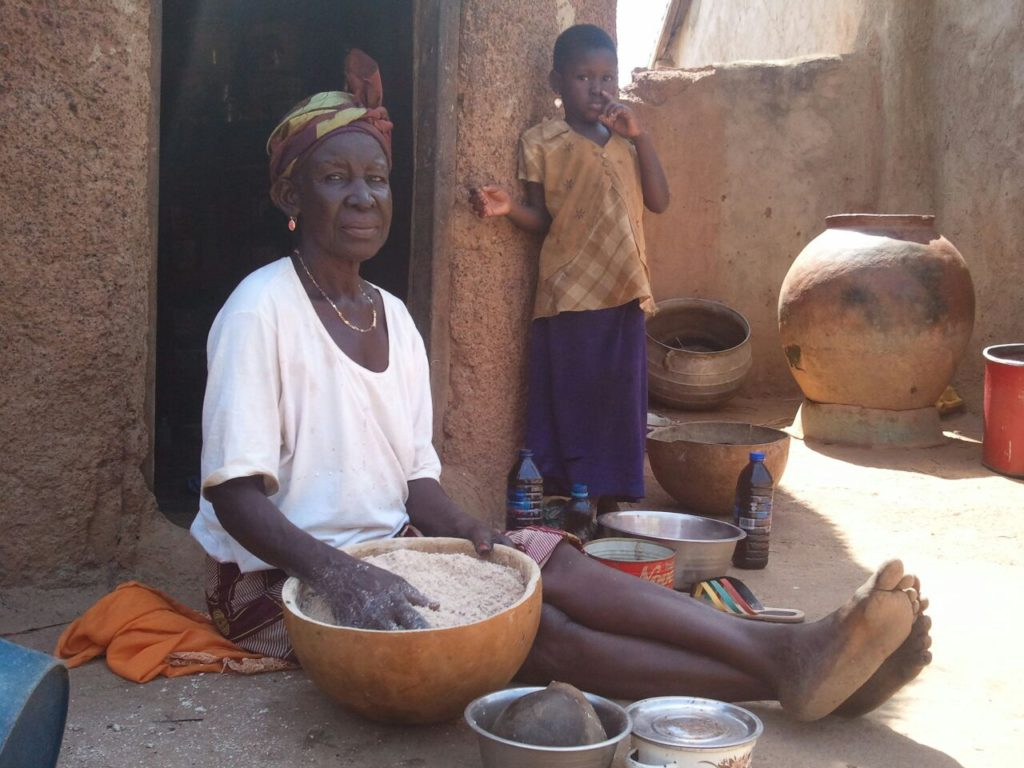 """She said she is glad having access to clean water in the community"" - Wahab monitors in April"
