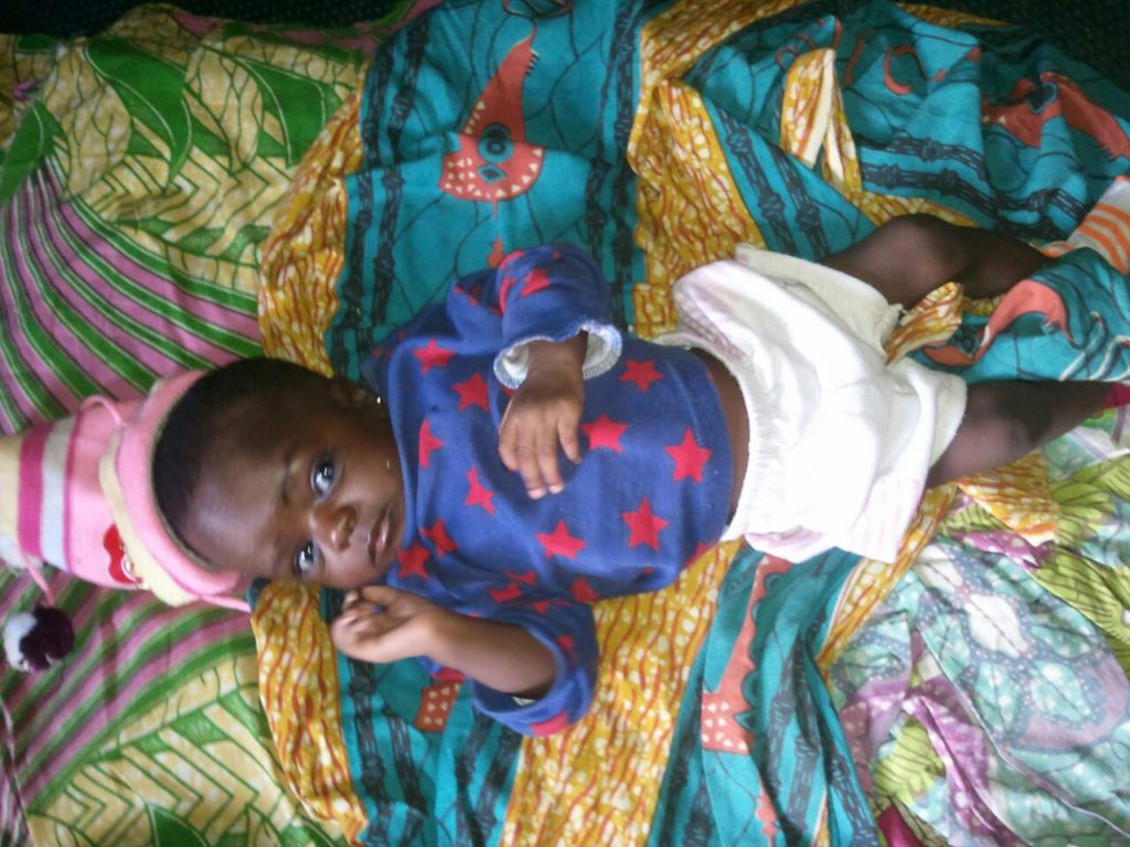 Fatima, an entrepreneur in Namdu 2, just had a new baby. Her name is Barikisu! Amarraba!