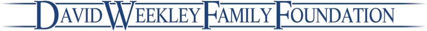 David Weekley Family Foundation